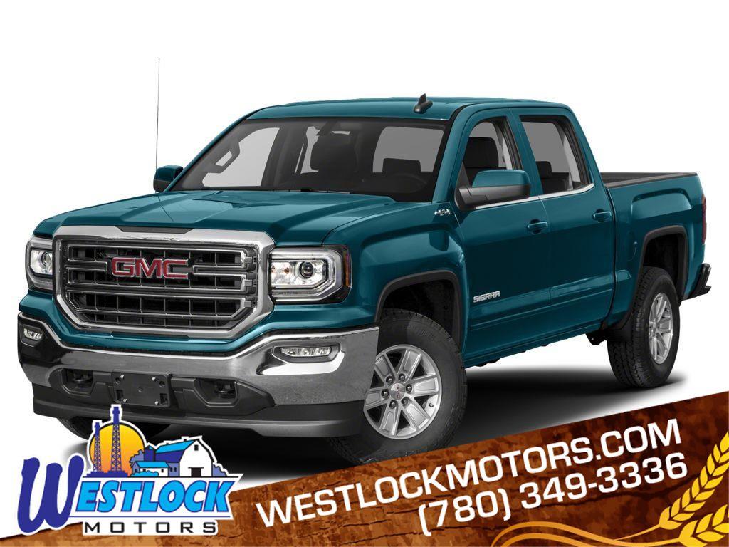 Blue 2017 GMC Sierra 1500