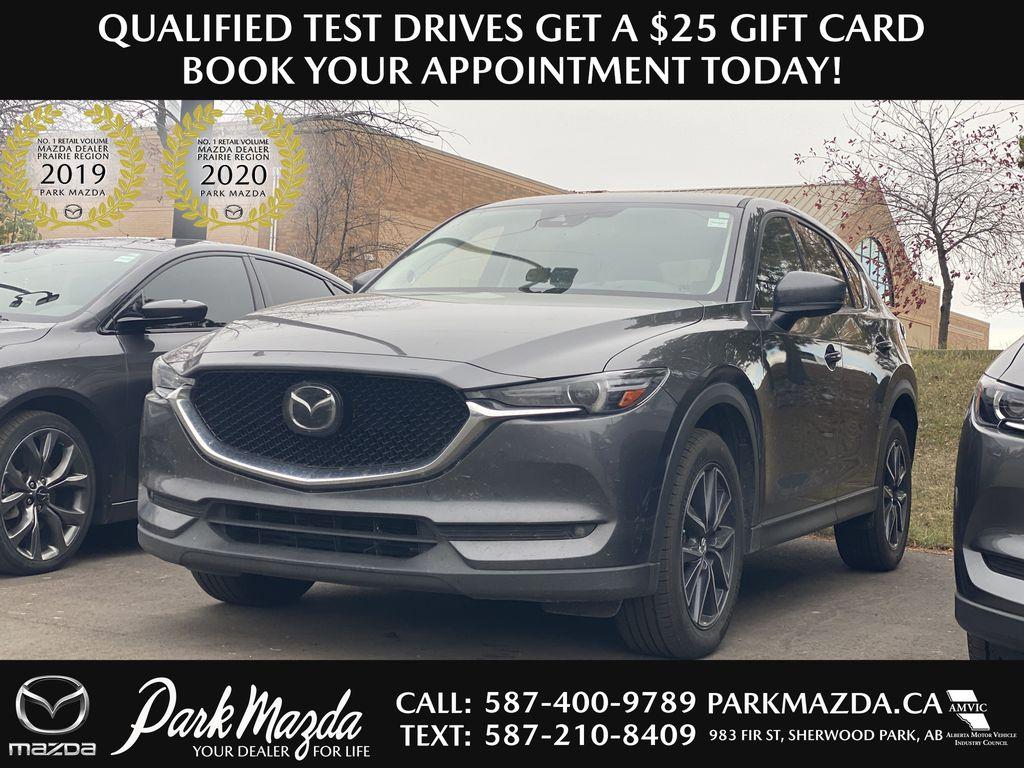 MACHINE GREY METALLIC 2017 Mazda CX-5 GT Tech Package