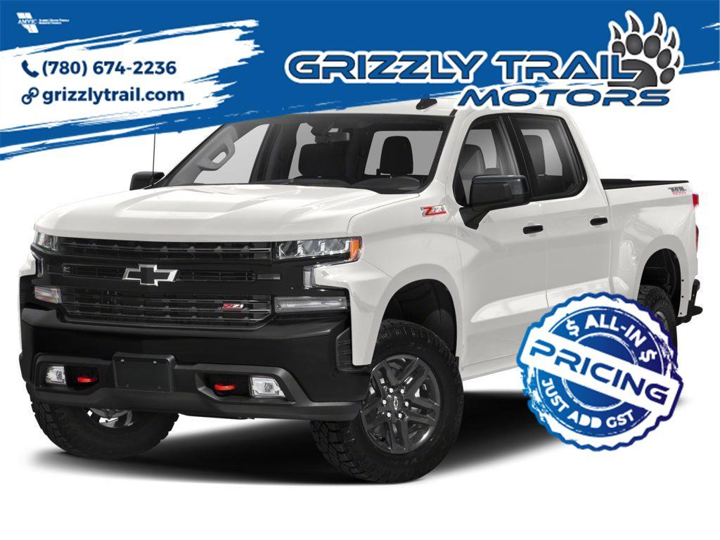 White 2021 Chevrolet Silverado 1500