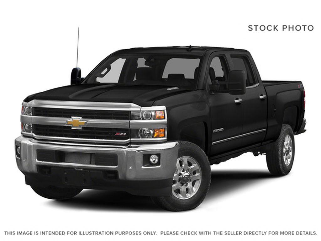Black[Black] 2015 Chevrolet Silverado 2500HD