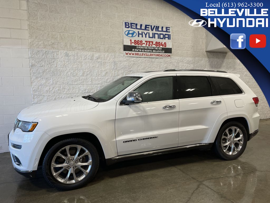White[Bright White] 2019 Jeep Grand Cherokee