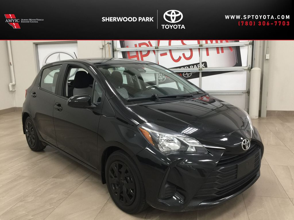 Black[Black Sand Pearl] 2019 Toyota Yaris Hatchback LE / AUTOMATIC