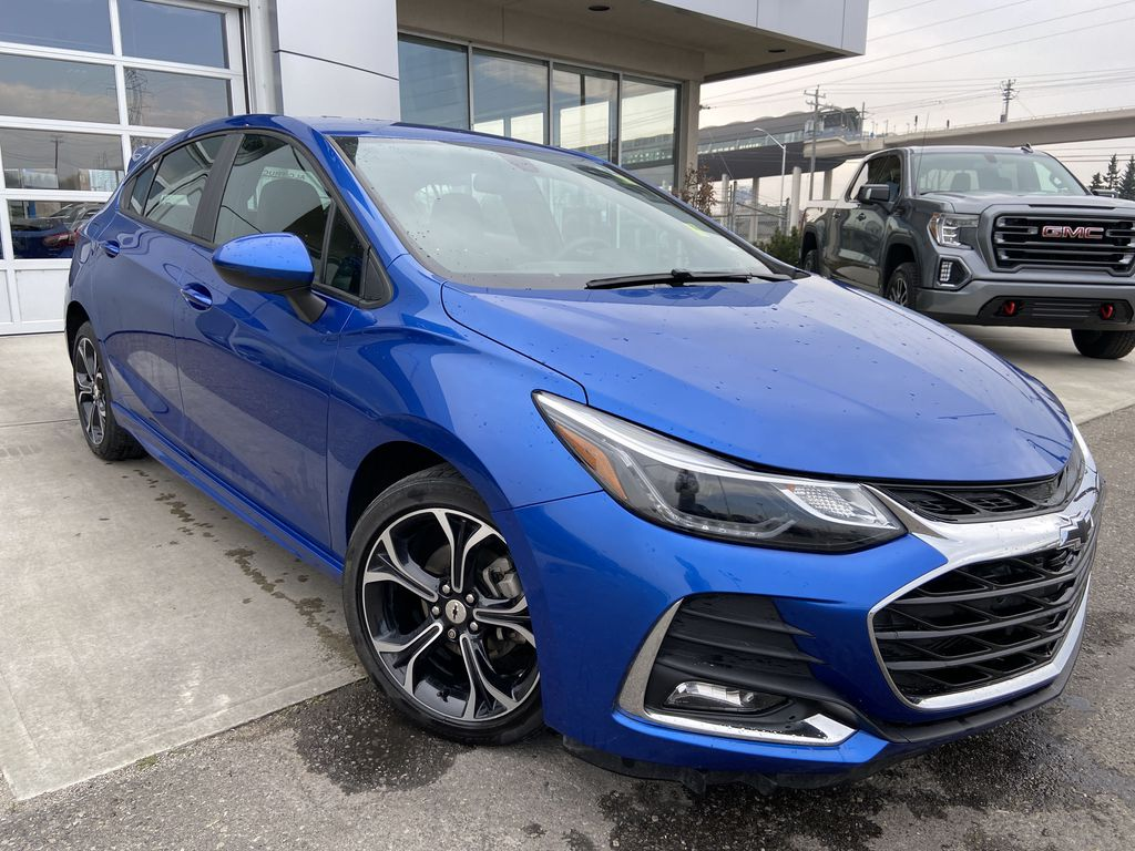 Blue[Kinetic Blue Metallic] 2019 Chevrolet Cruze LT
