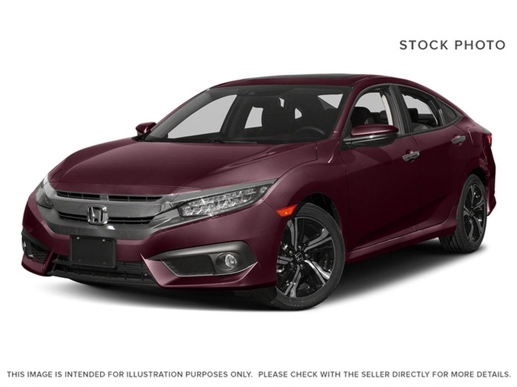 Red[Burgundy Night Pearl] 2017 Honda Civic Sedan