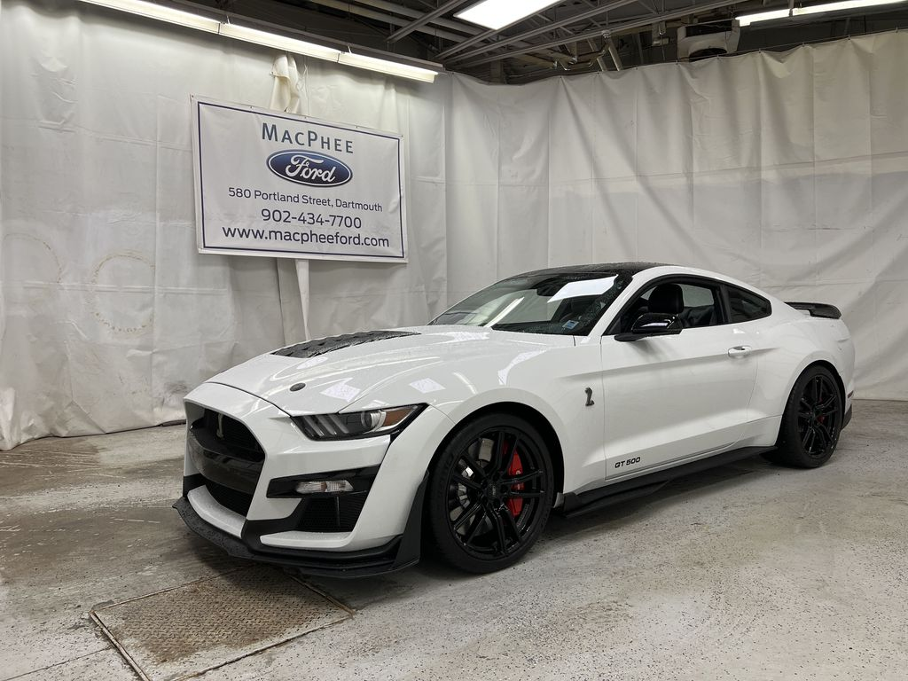 White[Oxford White] 2020 Ford Mustang