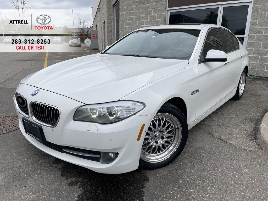 White[Alpine White] 2013 BMW 5 Series