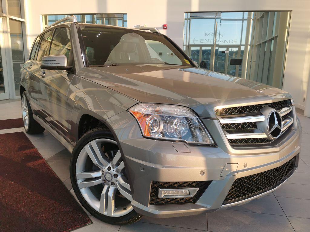 Silver[Palladium Silver Metallic] 2012 Mercedes-Benz GLK-Class