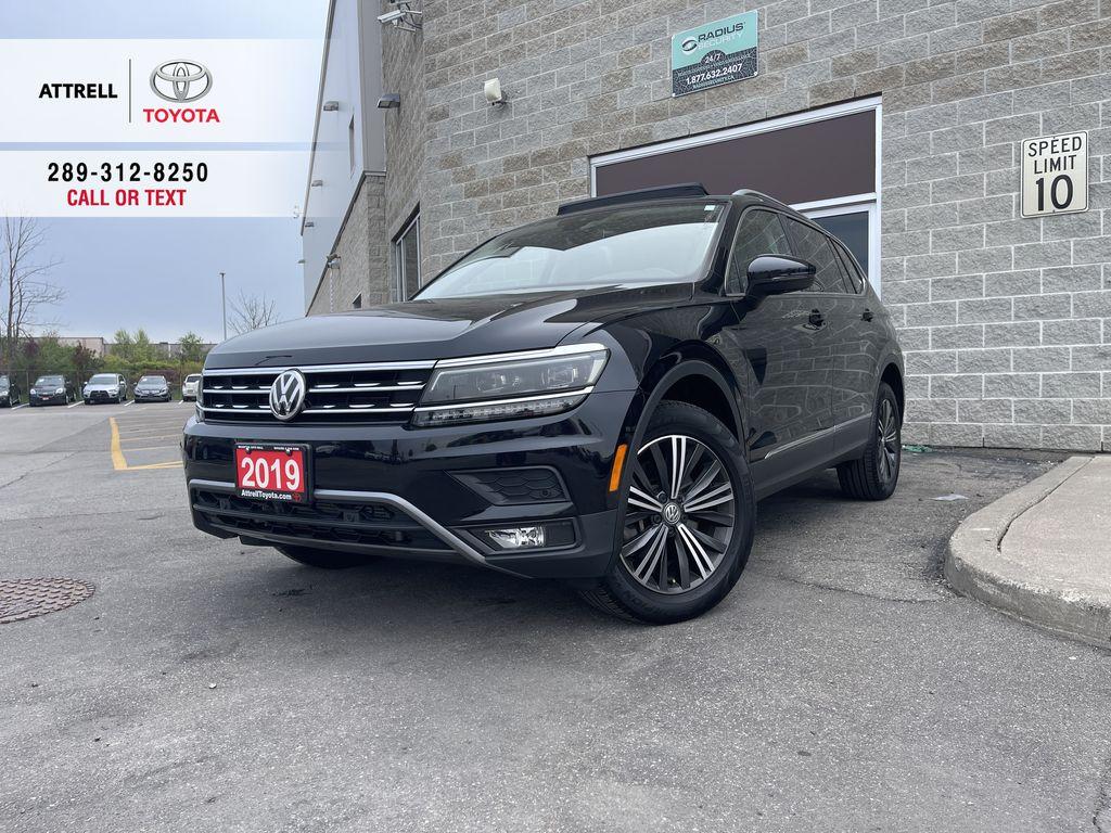 Black[Deep Black Pearl] 2019 Volkswagen Tiguan