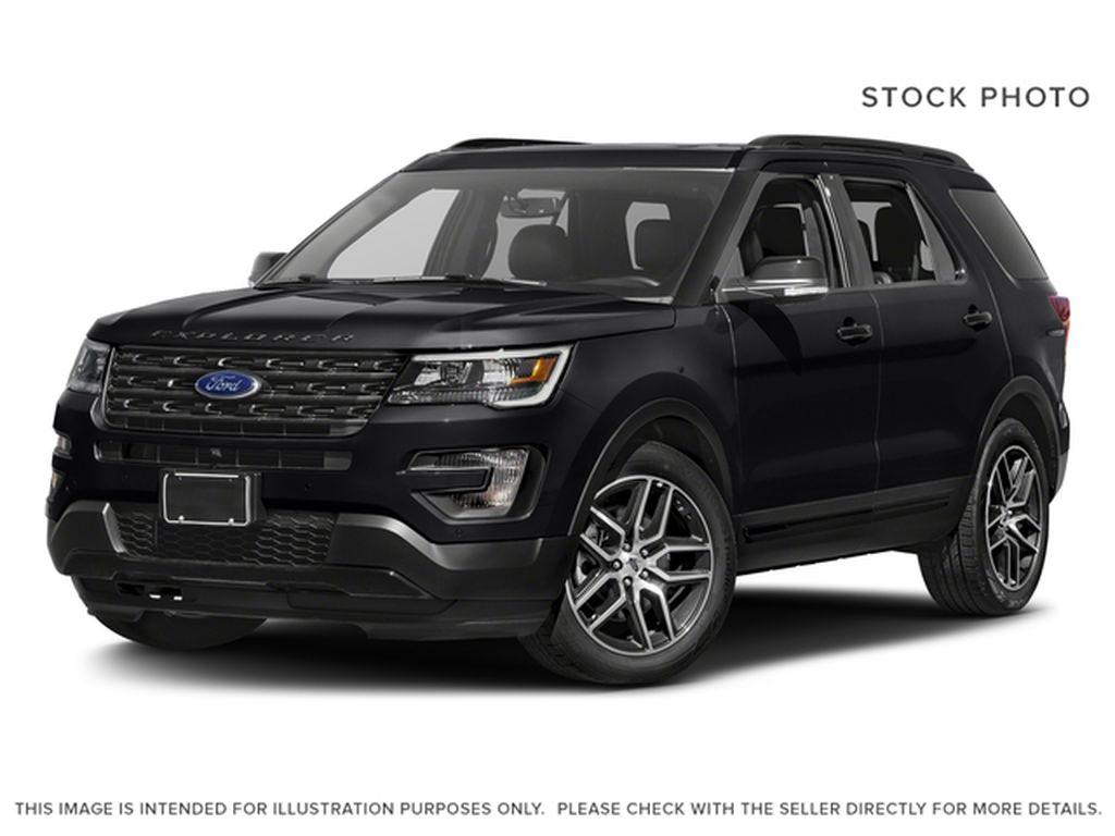 Black[Shadow Black] 2017 Ford Explorer