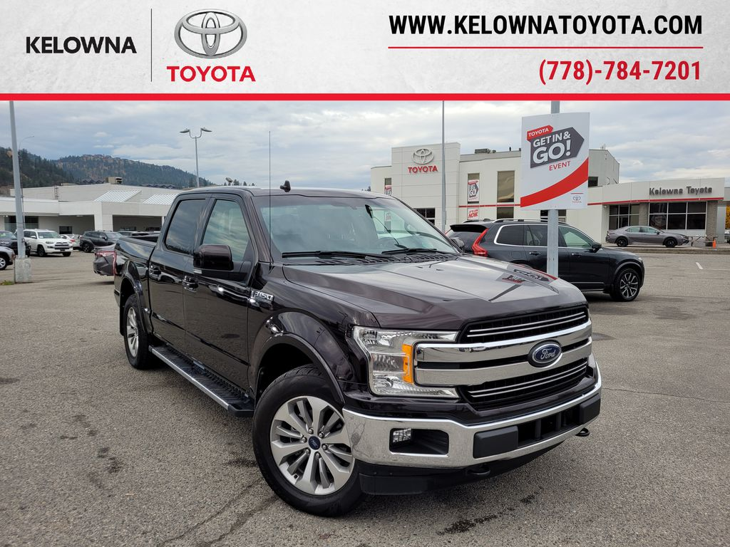 Maroon 2018 Ford F-150 Lariat 4WD with Navigation