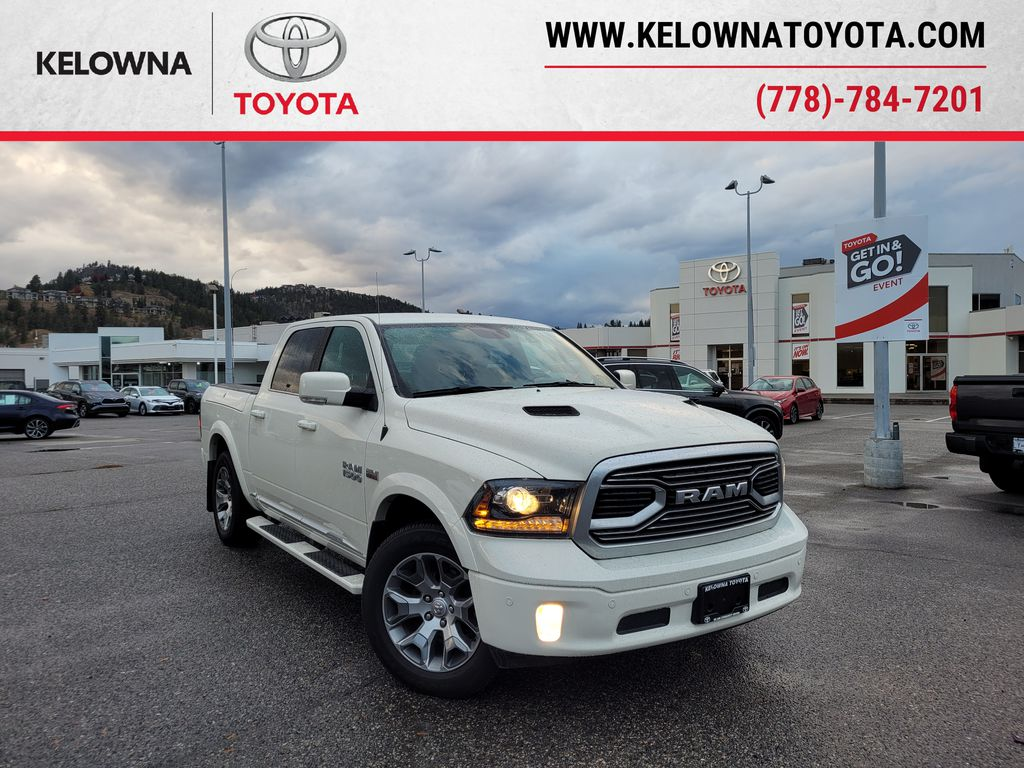 White[Pearl White] 2018 Ram 1500 Limited 4WD