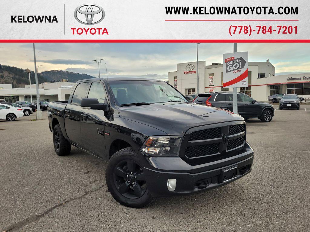 Black[Brilliant Black Crystal Pearl] 2018 Dodge Ram 1500 Bighorn 4WD