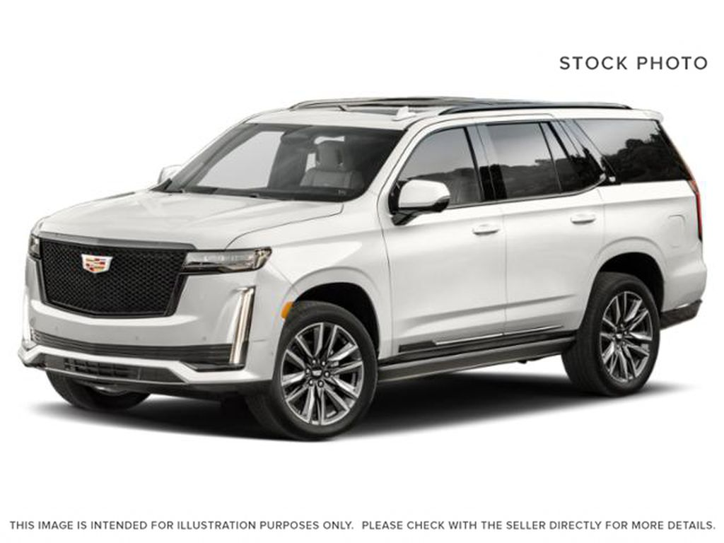 White[Crystal White Tricoat] 2021 Cadillac Escalade