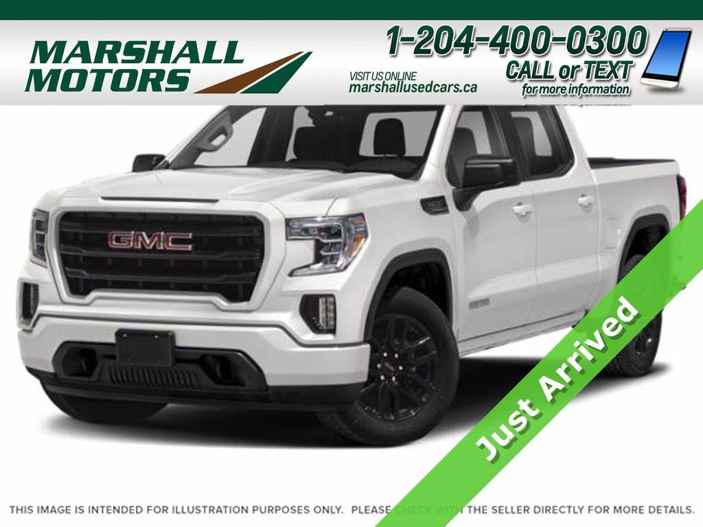 White[Summit White] 2019 GMC Sierra 1500