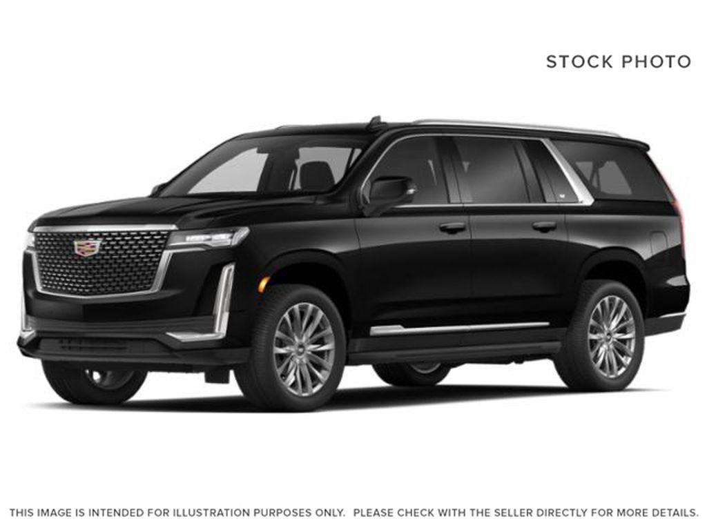 Black[Black Raven] 2021 Cadillac Escalade ESV