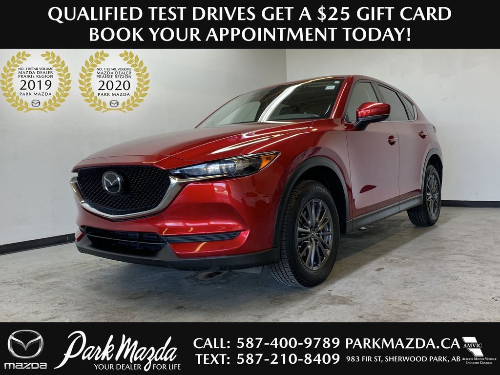 SOUL RED CRYSTAL METALLIC 2019 Mazda CX-5 GS - Bluetooth, Remote Start, Backup Cam, Adaptive Cruise, Apple CarPlay