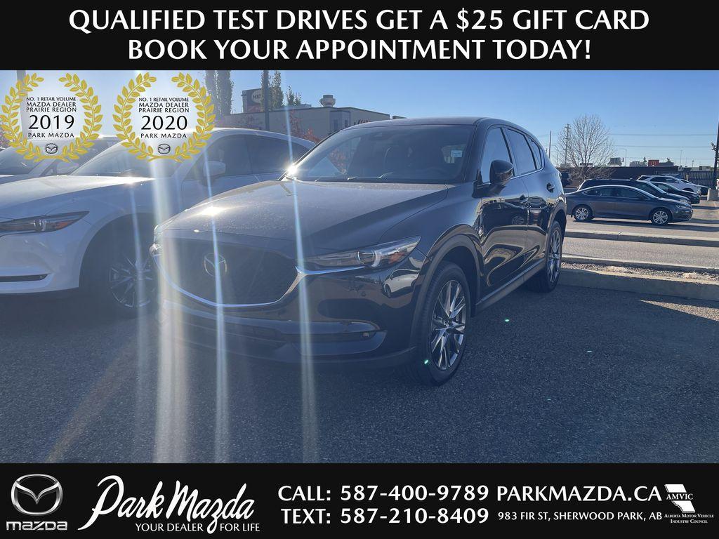 BLACK 2021 Mazda CX-5 Signature