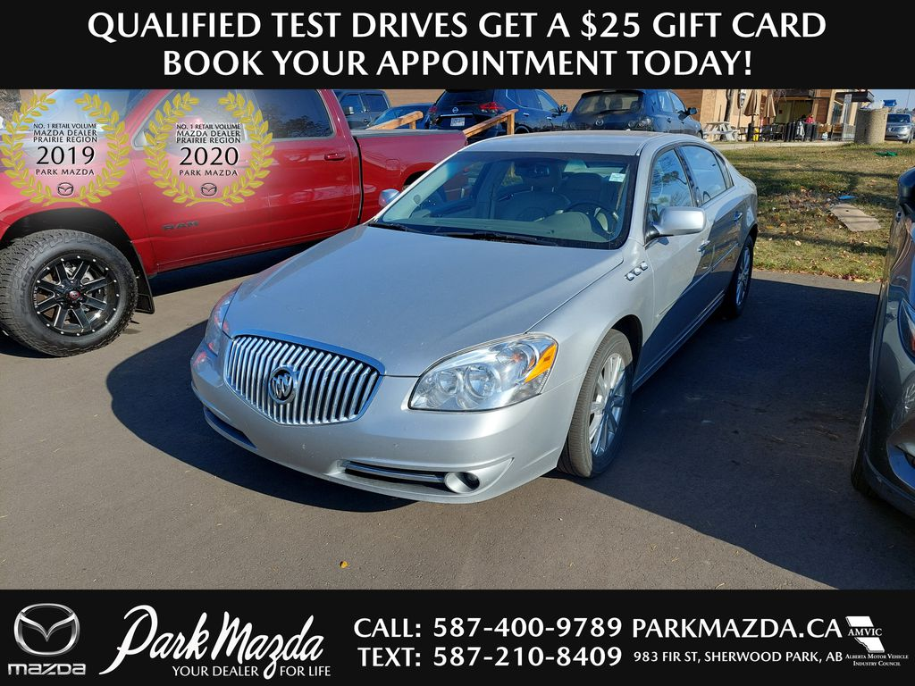 SILVER 2010 Buick Lucerne