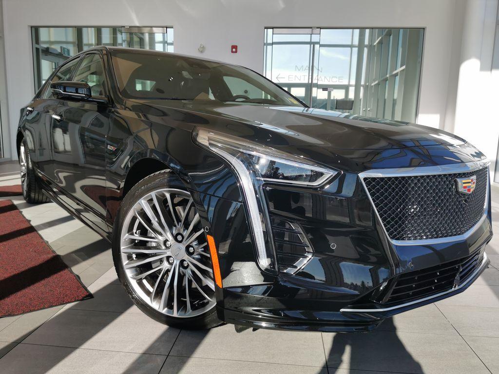 Black[Black Raven] 2019 Cadillac CT6-V