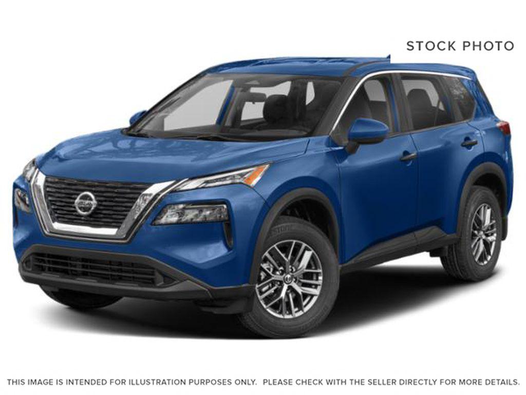 Blue[Caspian Blue Metallic] 2021 Nissan Rogue