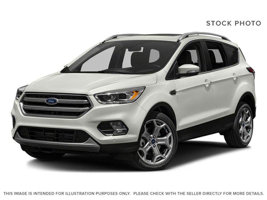White[White Platinum Metallic Tri-Coat] 2017 Ford Escape