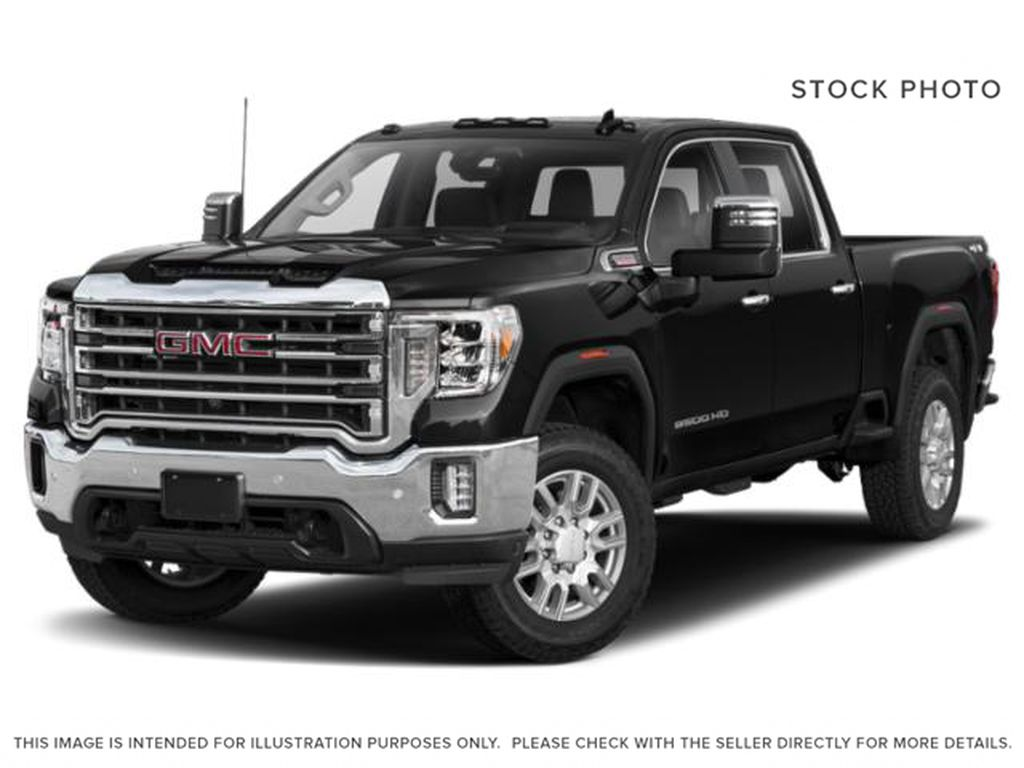Onyx Black 2022 GMC Sierra 2500HD Diesel