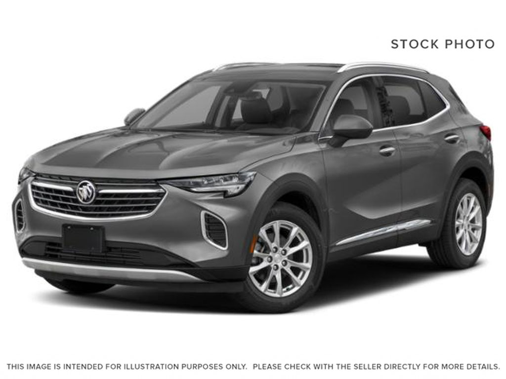 Satin Steel Metallic 2021 Buick Envision