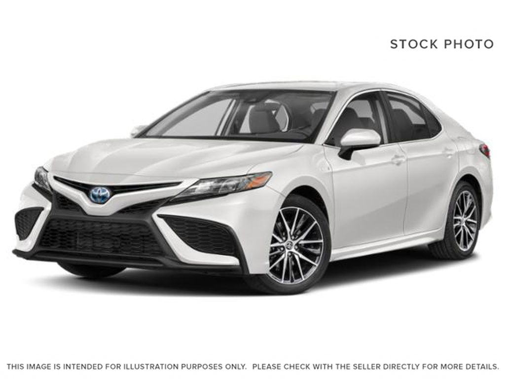 White[Super White] 2021 Toyota Camry SE Hybrid