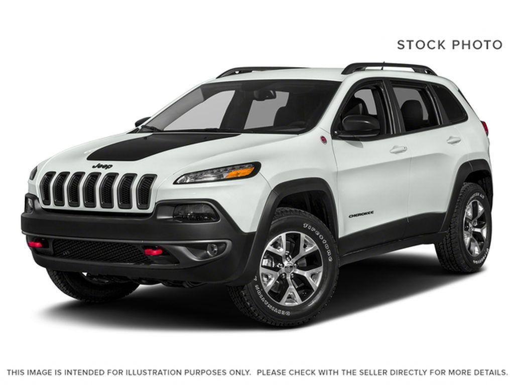 White[Bright White] 2018 Jeep Cherokee