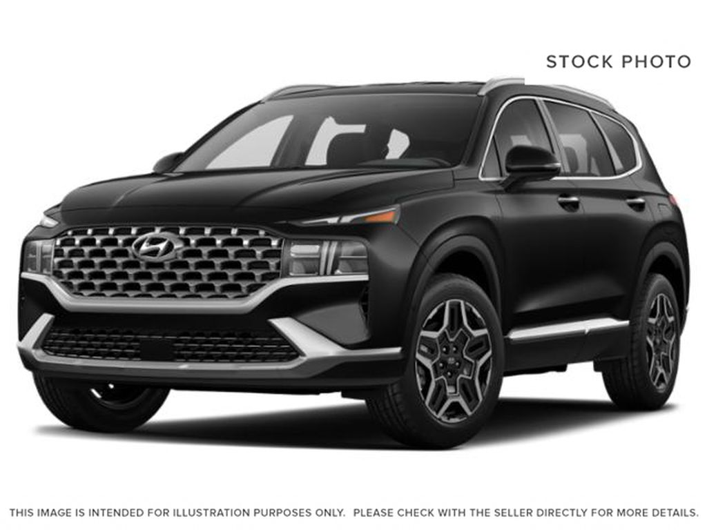 Black[Abyss Black] 2022 Hyundai Santa Fe Plug-In Hybrid