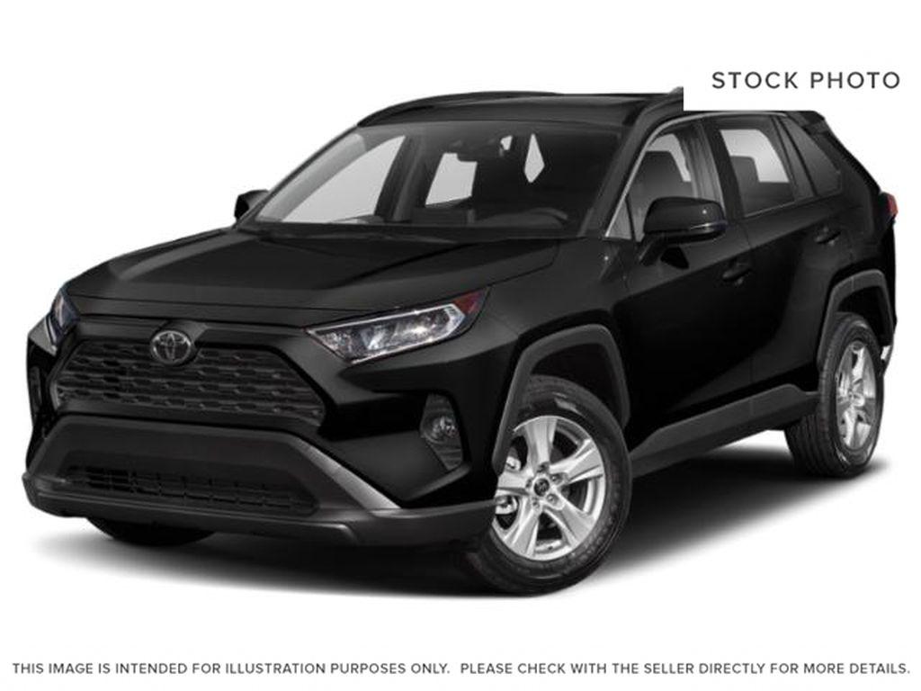 Black[Midnight Black Metallic] 2021 Toyota RAV4 XLE AWD