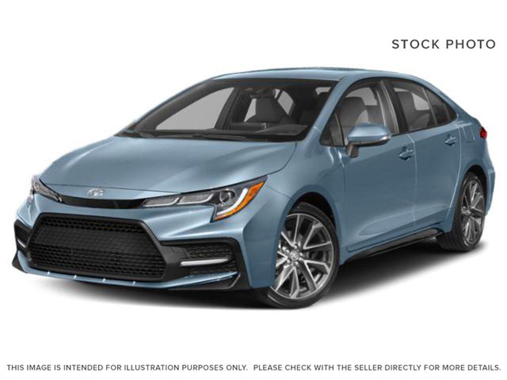 Blue[Blue Crush Metallic w/Black Roof] 2022 Toyota Corolla SE Upgrade