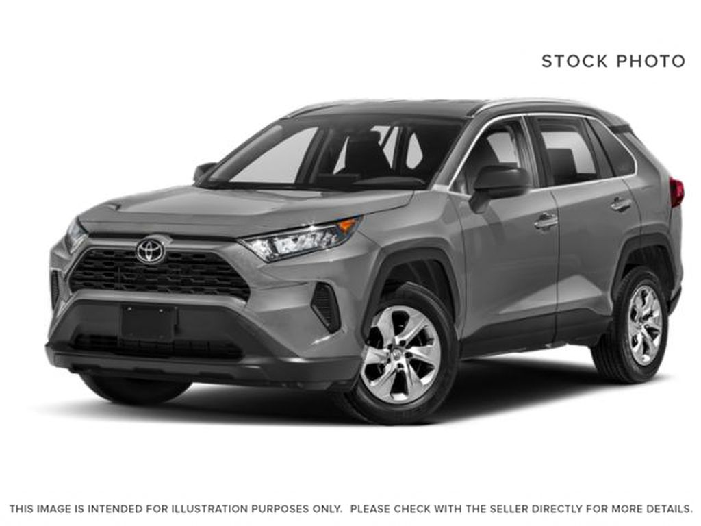 Silver[Silver Sky Metallic] 2021 Toyota RAV4 LE AWD