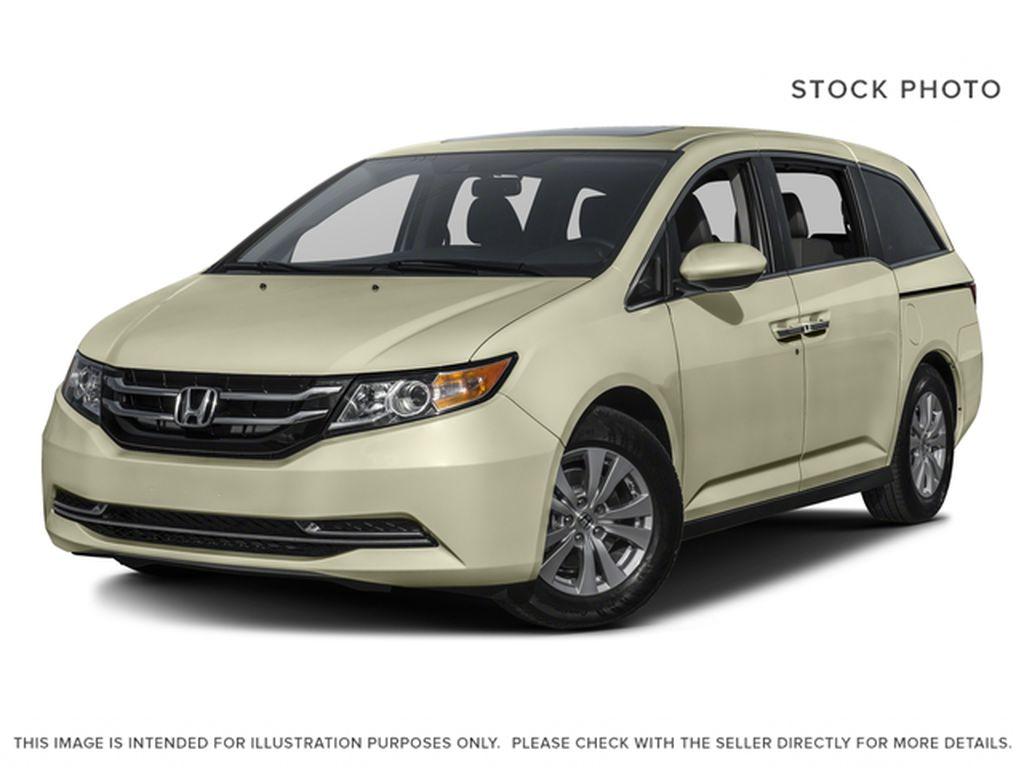 Black[Crystal Black Pearl] 2016 Honda Odyssey EX-L