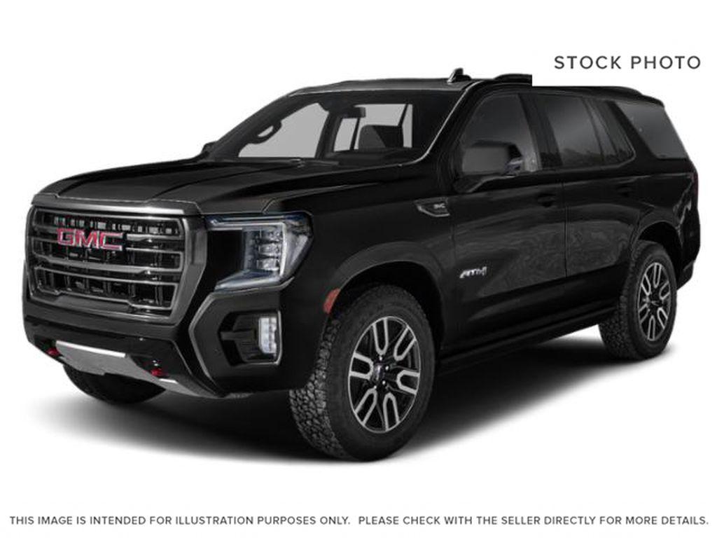 Black[Onyx Black] 2021 GMC Yukon AT4