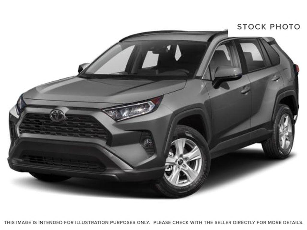 Gray[Magnetic Grey Metallic] 2021 Toyota RAV4 XLE AWD