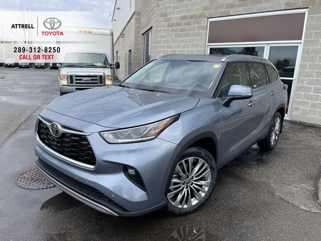 Gray[Moon Dust] 2021 Toyota Highlander AWD Platinum Package DZRBHT BC