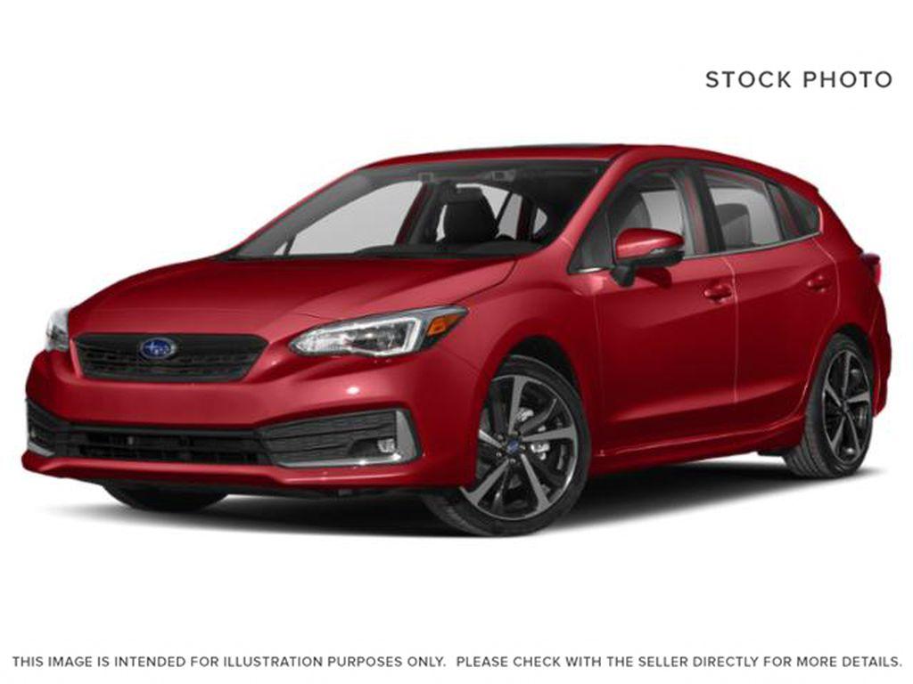 Red[Lithium Red Pearl] 2022 Subaru Impreza