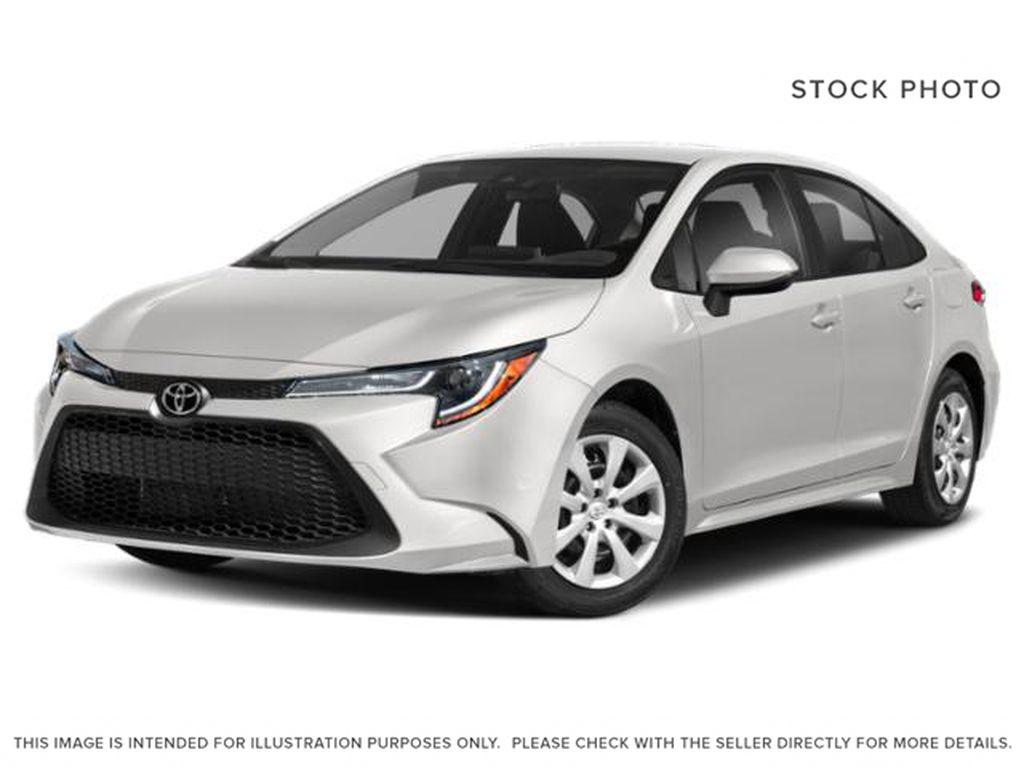 White[Super White] 2022 Toyota Corolla LE Upgrade