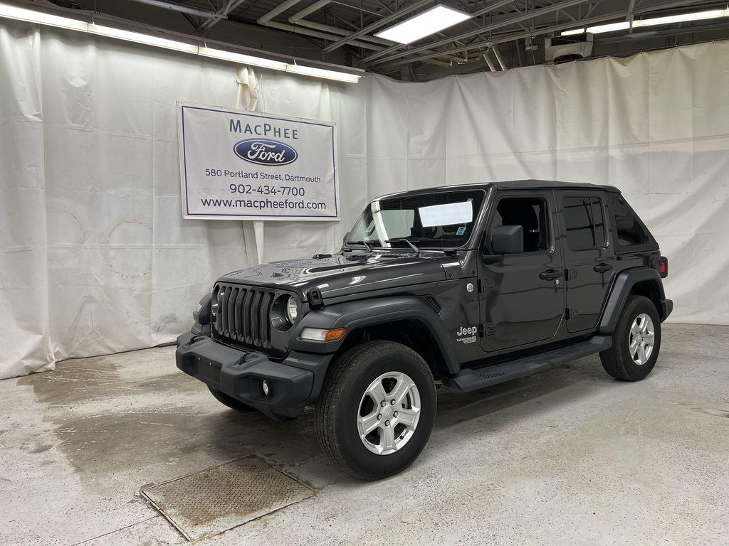 Silver[Billet Silver Metallic] 2020 Jeep Wrangler Unlimited