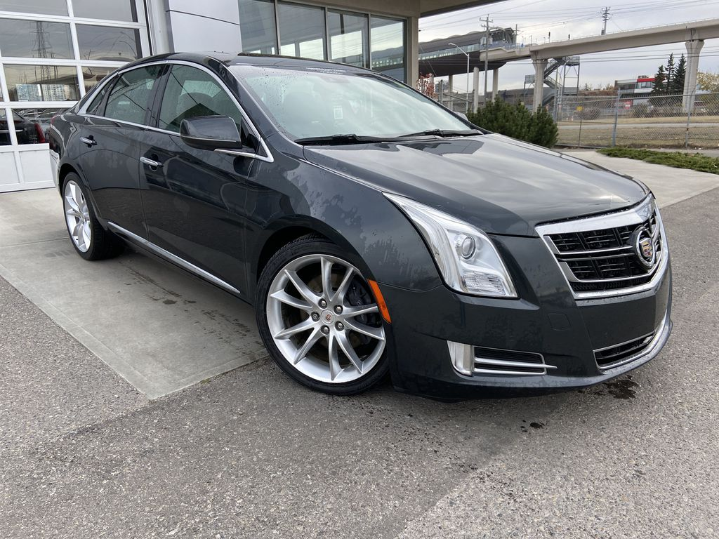 Gray[Graphite Metallic] 2015 Cadillac XTS Vsport Premium AWD