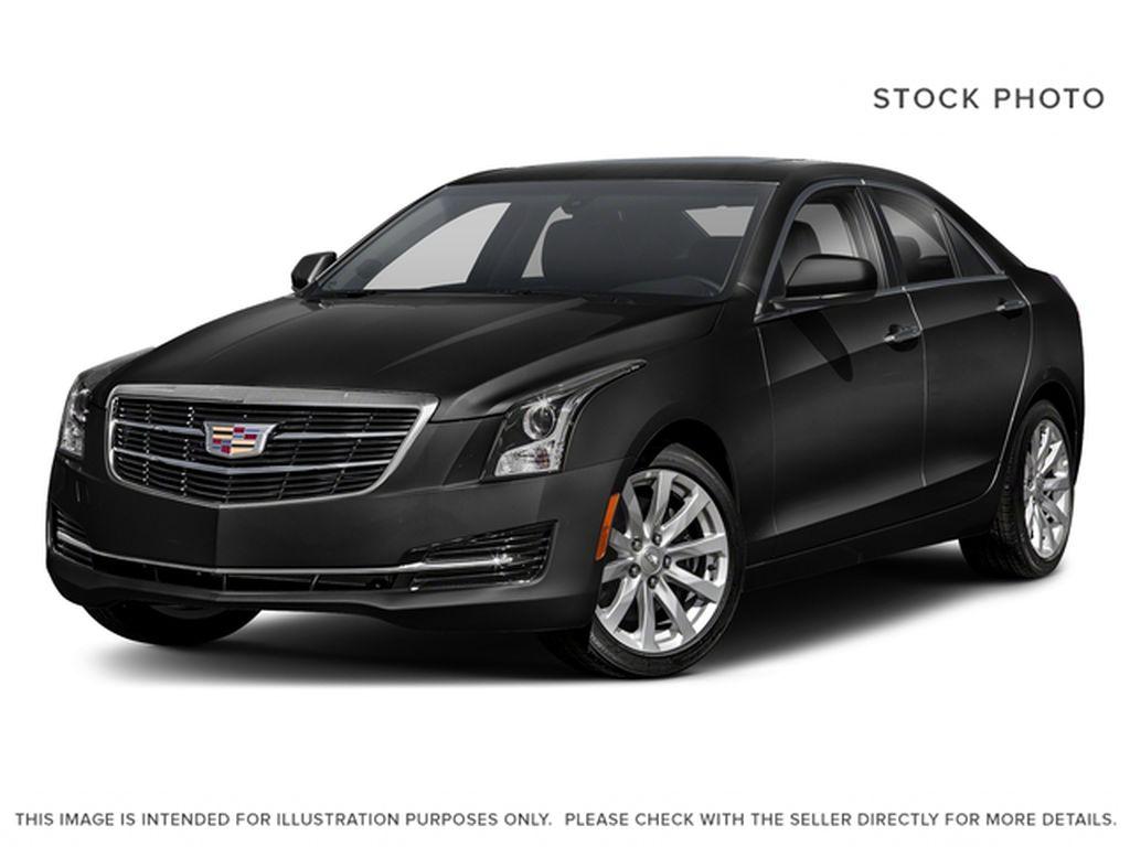 Black[Black Raven] 2018 Cadillac ATS Sedan