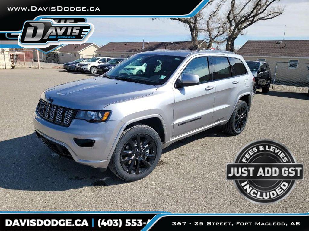 Silver[Billet Silver Metallic] 2021 Jeep Grand Cherokee