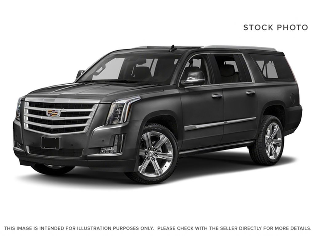 Black[Black Raven] 2018 Cadillac Escalade ESV