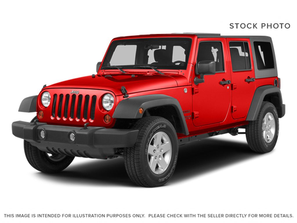 Red[Firecracker Red Clearcoat] 2014 Jeep Wrangler Unlimited