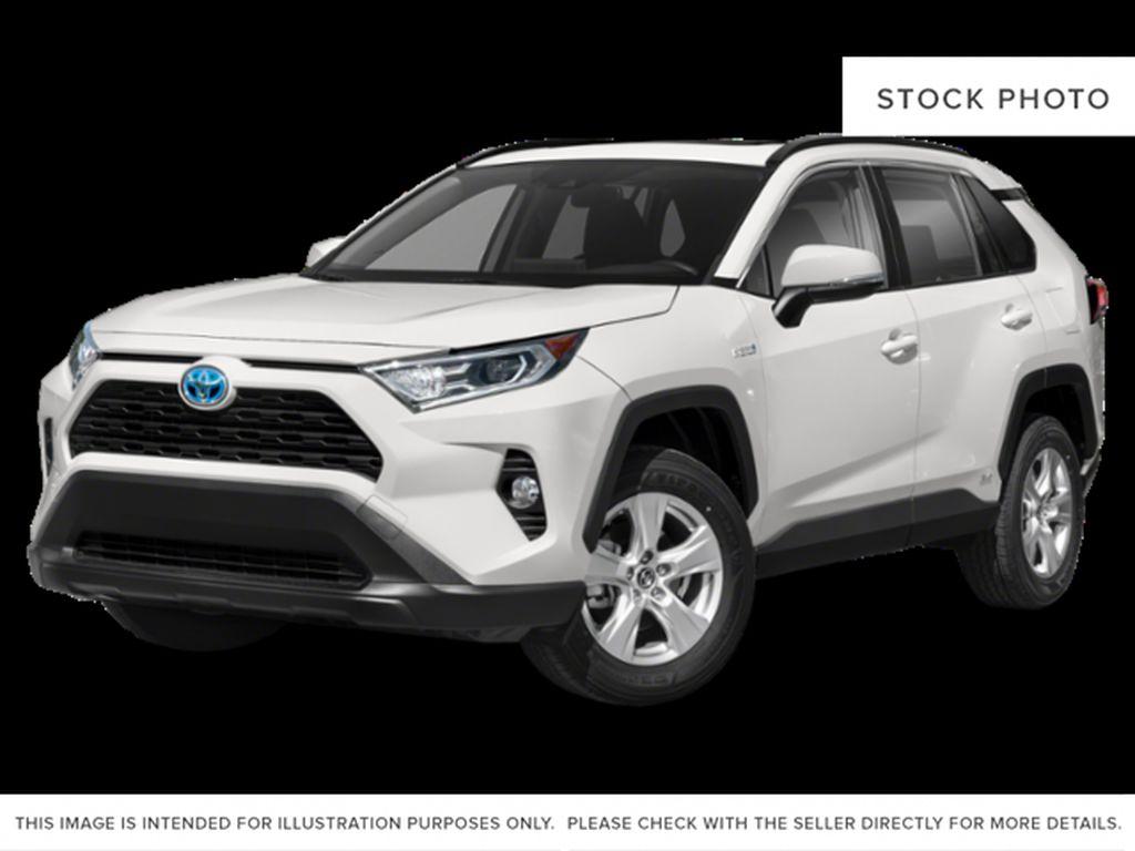 White[Blizzard Pearl w/Black Roof] 2021 Toyota RAV4