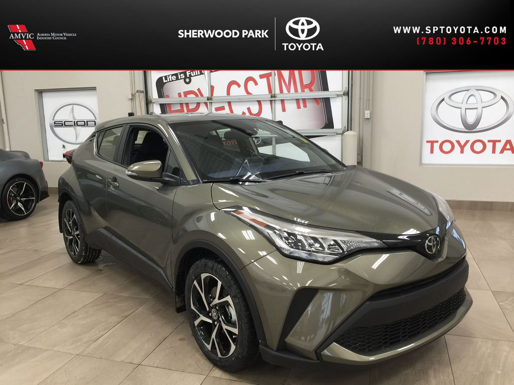 Brown[Bronze Oxide] 2021 Toyota C-HR XLE Premium