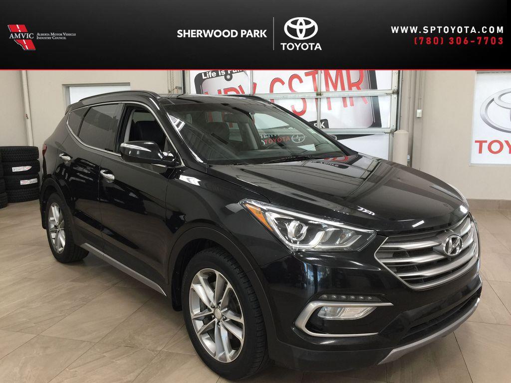 Black[Twilight Black] 2017 Hyundai Santa Fe Sport Limited