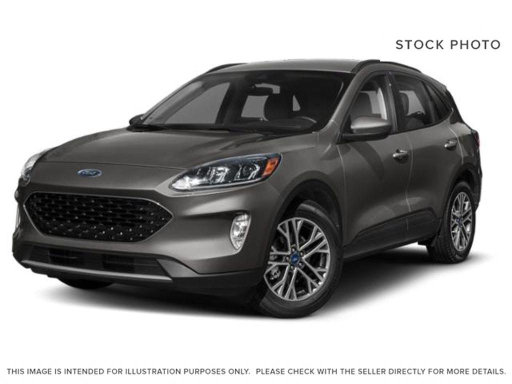 Gray[Carbonized Grey Metallic] 2021 Ford Escape