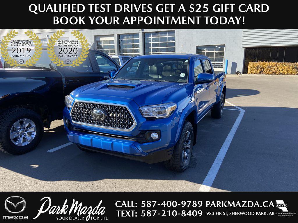 BLUE 2018 Toyota Tacoma
